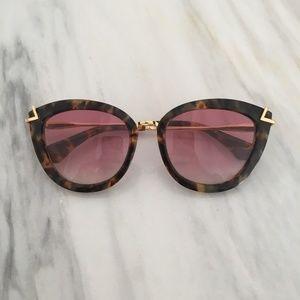 Sonix Sunglasses- Melrose Rouge